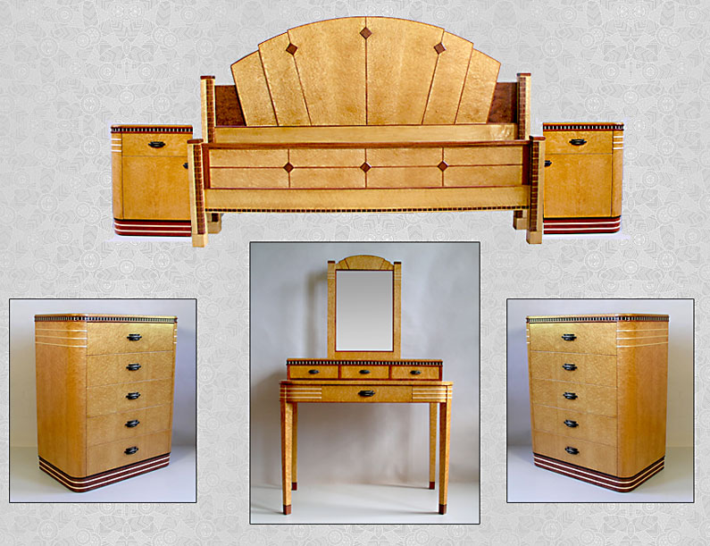 Art Deco Bedroom Set