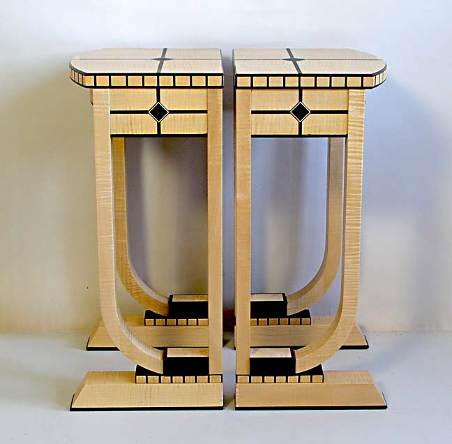 Art Deco bar tables