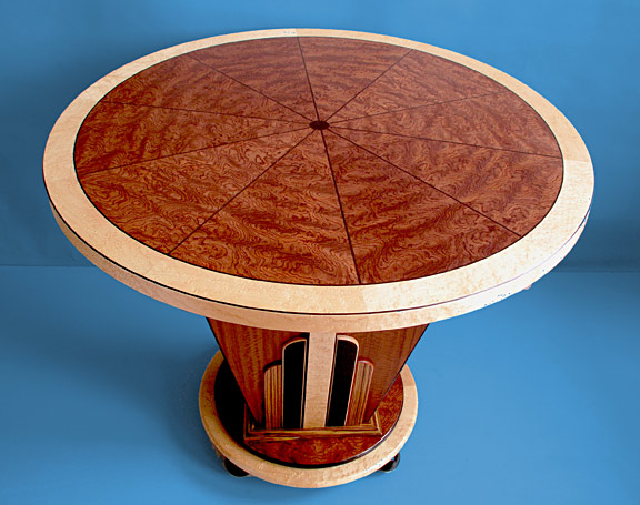 Art Deco inlayed table