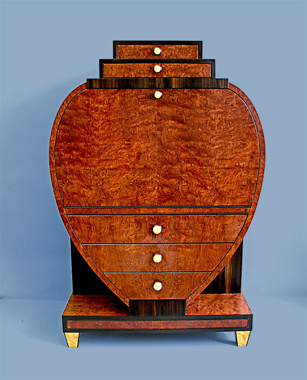 Biedermeier Secretary Desk