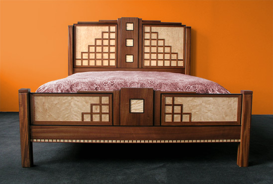 Miami Art Deco bed