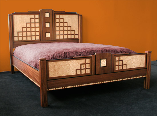 South beach Art Deco Bedroom Set