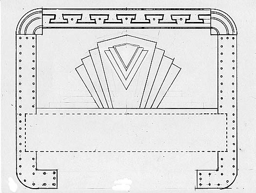 Art Deco Bed Design