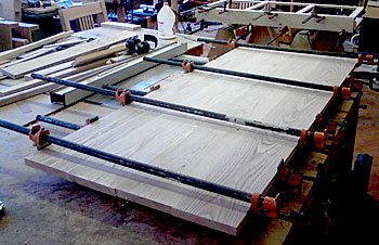 tabletop glue-up