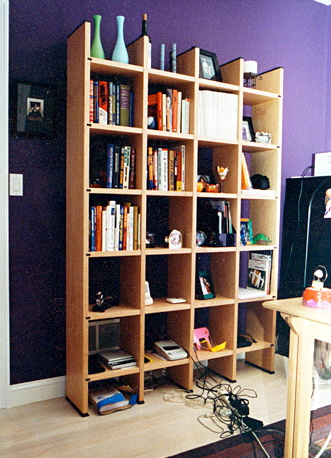 cubby book case