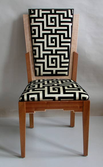 Art Deco dining chair