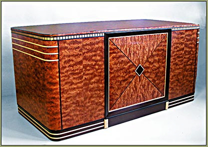 Art Deco Executive Desk