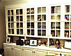 glass door bookcases