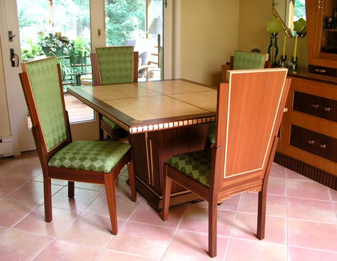 Complete Art Deco Dining Set