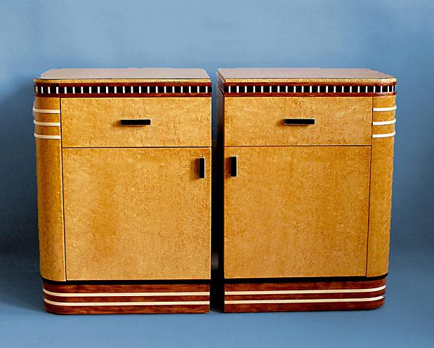 Marvelous Art Deco End Tables